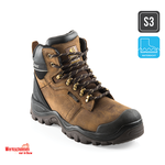 Buckler Boots BSH009BR waterdicht werkschoenen S3 Bruin