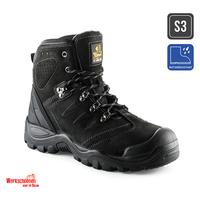 Buckler werkschoenen BSH007BK Zwarte S3 schoenen