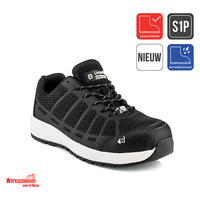 Buckler Largo Bay KEZ zwarte safety sneaker S1P